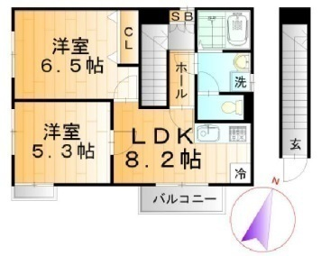 間取図/区画図: